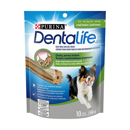 Picture of CANINE DENTALIFE DLYORLCR ORAL CHEWS S/M DOGS - 198gm