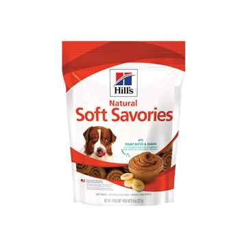 Picture of CANINE HILLS NATURALS SAVORIES w/ PEANUT BUTTER & BANANA - 8oz