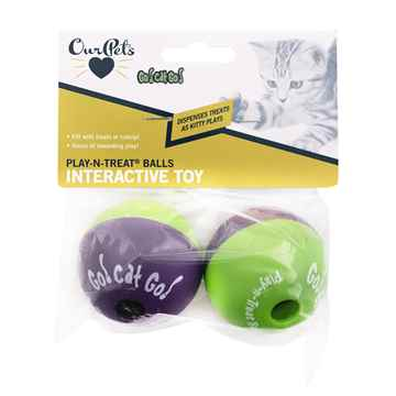 Picture of TOY CAT Play-N-Treat Ball - 2/pk