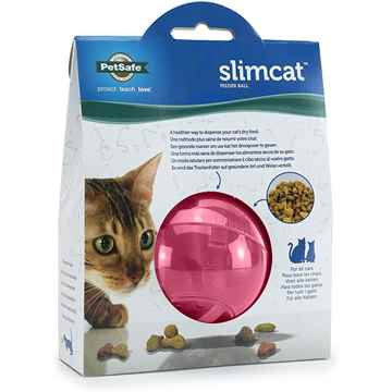 Picture of PETSAFE SLIMCAT TREAT BALL - Pink