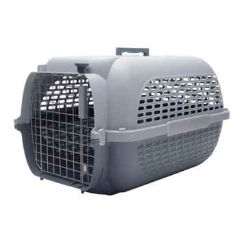 Picture of PET CARRIER DOGIT VOYAGEUR Medium Gray/Gray  - 22in L x 14.8 W x 12in H