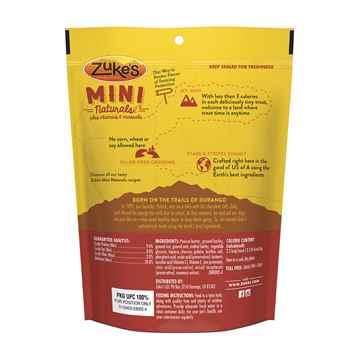 Picture of TREAT CANINE ZUKES MINI NATURALS Peanut Butter & Oats - 6oz