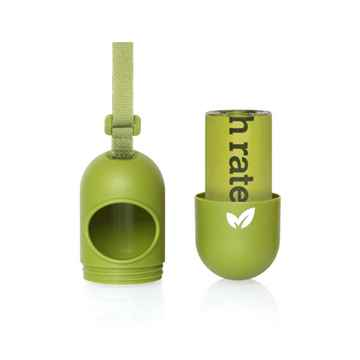 Picture of PET WASTE EARTH RATED GREEN LEASH DISPENSER with Scented 15 bags