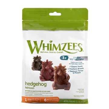 Picture of TREAT CANINE Whimzees Hedgehogs Large - 6/bag