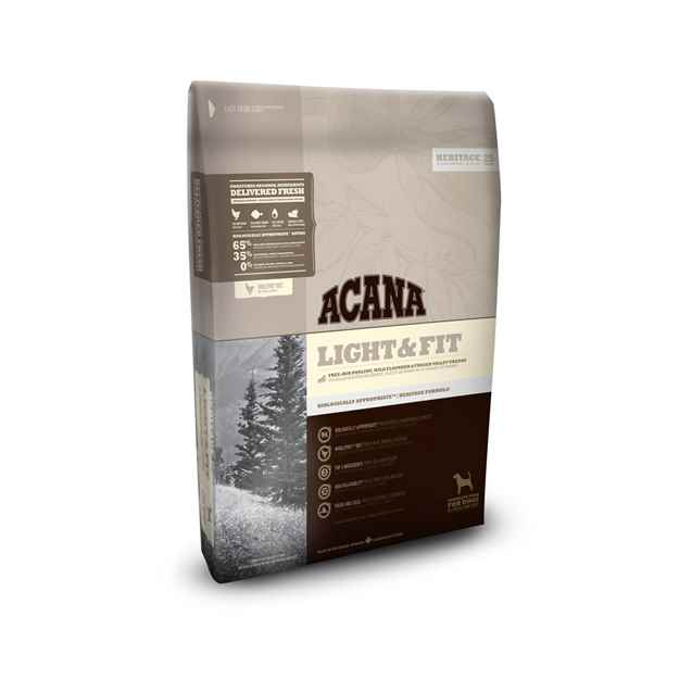 Picture of CANINE ACANA HERITAGE LIGHT & FIT - 11.4kg
