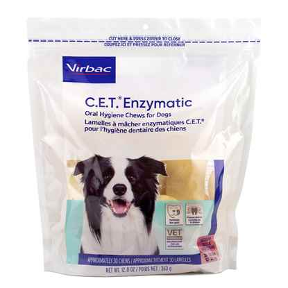 Picture of CET ENZYMATIC ORAL HYGIENE CHEWS MEDIUM  - 30s