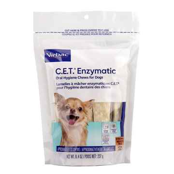 Picture of CET ENZYMATIC ORAL HYGIENE CHEWS for DOGS EXTRA SMALL - 30s