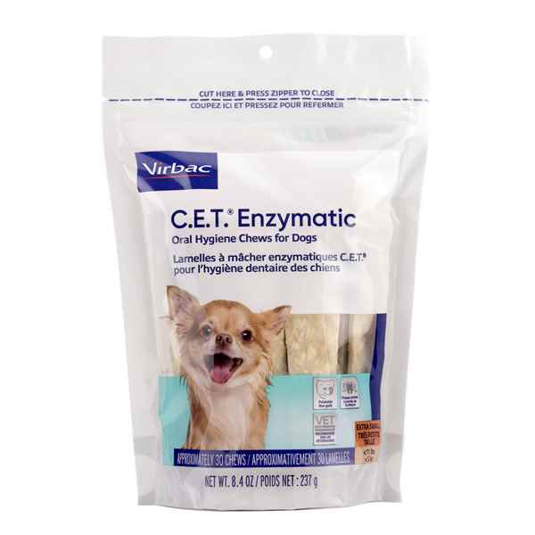 Picture of CET ENZYMATIC ORAL HYGIENE CHEWS EXTRA SMALL - 30s