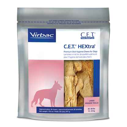 Picture of CET HEXTRA CHEWS LARGE - 30/ct