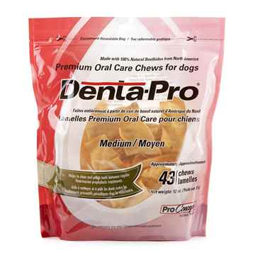 Picture of DENTA PRO PREMIUM ORAL CHEW for DOGS MEDIUM - 43/count