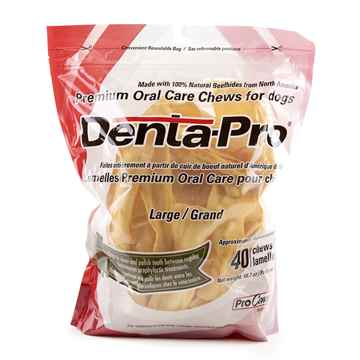 Picture of DENTA PRO PREMIUM ORAL CHEW for DOGS LARGE - 40/count