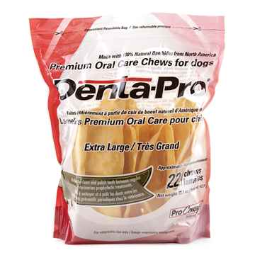 Picture of DENTA PRO PREMIUM ORAL CHEW for DOGS XLARGE - 22/count