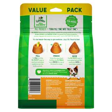 Picture of PILL POCKETS Dog Capsules Chicken Flavor - 15.8oz