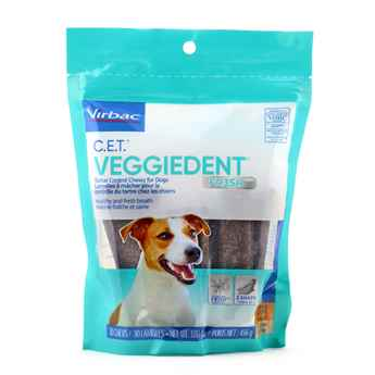 Picture of CET VEGGIEDENT FR3SH TARTAR CHEWS SMALL - 30s