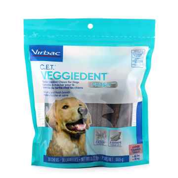 Picture of CET VEGGIEDENT FR3SH TARTAR CHEWS LARGE - 30s