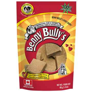 Picture of TREAT LIVER CHOPS Benny Bullys - 40g
