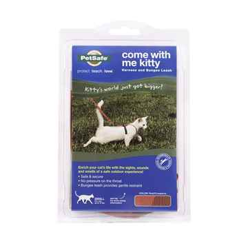 Picture of LEAD AND HARNESS COMBO PETSAFE Small Cat- Red