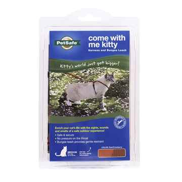 Picture of LEAD AND HARNESS COMBO PETSAFE Medium Cat- Red