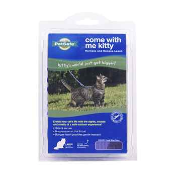 Picture of LEAD AND HARNESS COMBO PETSAFE Large Cat- Royal Blue