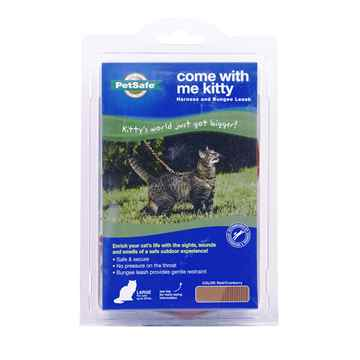 Picture of LEAD AND HARNESS COMBO PETSAFE Large Cat- Red