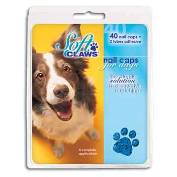 Picture of SOFT CLAWS TAKE HOME KIT CANINE MEDIUM - Blue