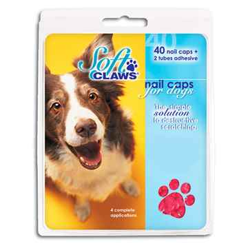 Picture of SOFT CLAWS TAKE HOME KIT CANINE MEDIUM - Pink