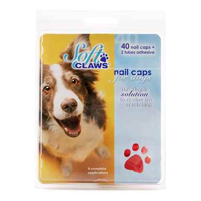 Picture of SOFT CLAWS TAKE HOME KIT CANINE LARGE - Red
