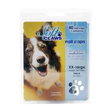 Picture of SOFT CLAWS TAKE HOME KIT CANINE XXLARGE - Black