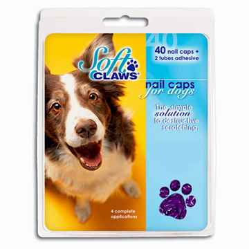 Picture of SOFT CLAWS TAKE HOME KIT CANINE MEDIUM - Purple