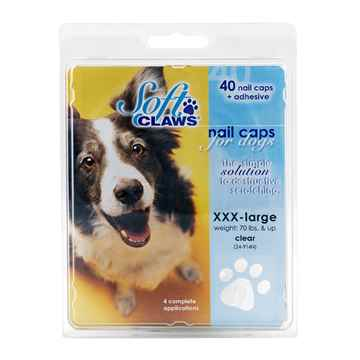 Picture of SOFT CLAWS TAKE HOME KIT CANINE XXX LARGE - Natural