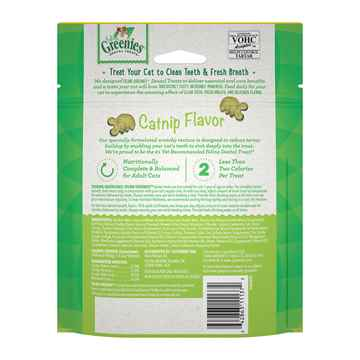 Picture of GREENIE FELINE DENTAL TREAT Catnip Flavor - 4.6oz