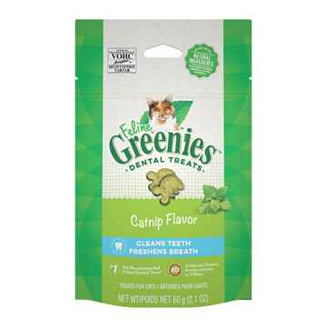 Picture of GREENIE FELINE DENTAL TREAT Catnip Flavor - 2.1oz