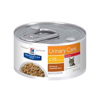 Picture of FELINE HILLS cd MULTICARE STRESS CHICKEN & VEG STEW - 24 x 2.9oz cans