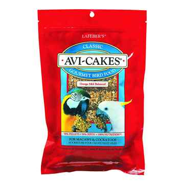 Picture of CLASSIC AVI-CAKES for MACAW & COCKATOO - 1lb