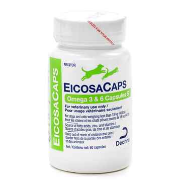 Picture of EICOSACAPS OMEGA 3-6 CAPS S(UP TO 40lbs) - 60's