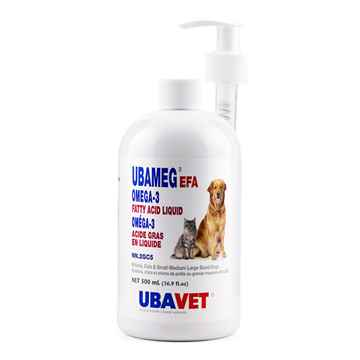Picture of UBAVET UBAMEG OMEGA 3 FATTY ACID LIQUID - 500ml