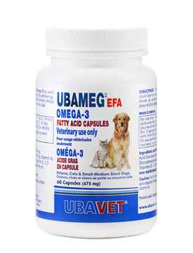 Picture of UBAVET UBAMEG OMEGA 3 FATTY ACID 675mg CAPS - 60's