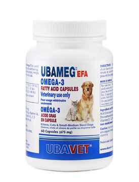 Picture of UBAVET UBAMEG OMEGA 3 FATTY ACID 675mg CAPS - 60's