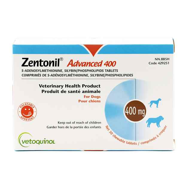 Picture of ZENTONIL ADVANCED 400 CHEWABLE TABS - 30's