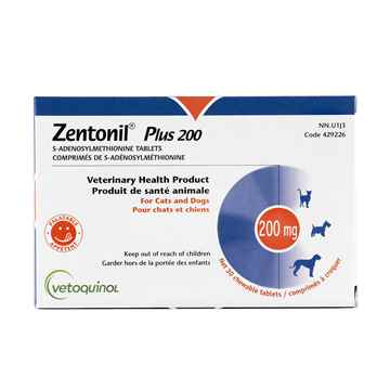 Picture of ZENTONIL PLUS 200mg CHEWABLE TABS - 30's