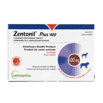 Picture of ZENTONIL PLUS 400mg CHEWABLE TABS - 30's