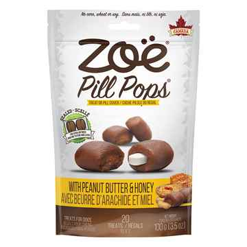 Picture of ZOE PILL POPS Peanut Butter with Honey - 100g