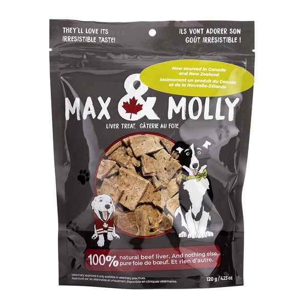 Picture of MAX & MOLLY LIVER TREATS - 120gm