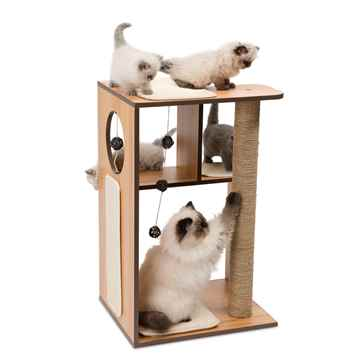 Picture of CAT FURNITURE VESPER V-BOX Large Walnut(52077)