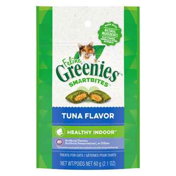 Picture of GREENIE FELINE TREAT SMARTBITES Hairball Control Tuna - 2.1oz / 60g