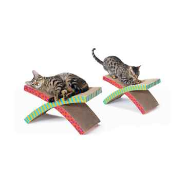 Picture of TOY CAT Petstages Corrugated Hammock and Scratcher