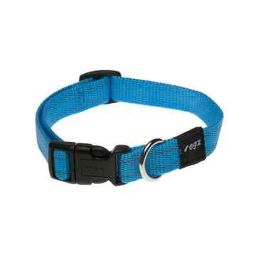 Picture of COLLAR ROGZ UTILITY SNAKE Turquoise - 5/8in x 10-16in