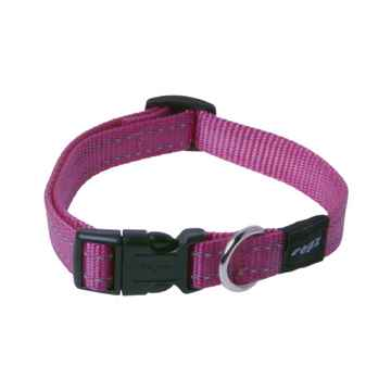 Picture of COLLAR ROGZ UTILITY SNAKE Pink - 5/8in x 10-16in(tu)