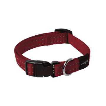 Picture of COLLAR ROGZ UTILITY SNAKE Red - 5/8in x 10-16in