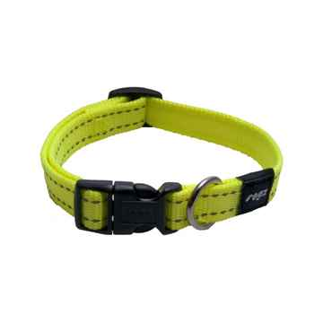 Picture of COLLAR ROGZ UTILITY SNAKE Dayglo Yellow - 5/8in x 10-16in